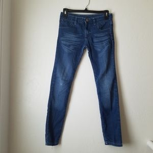 K-18 Dark Blue Super stretch skinny Jeans